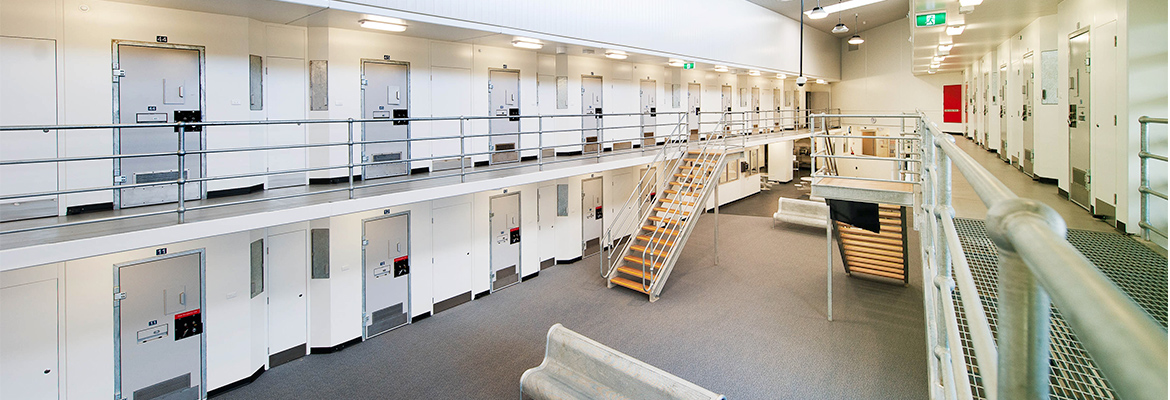 Prolok screwbolts used in ravenshall correctional centre